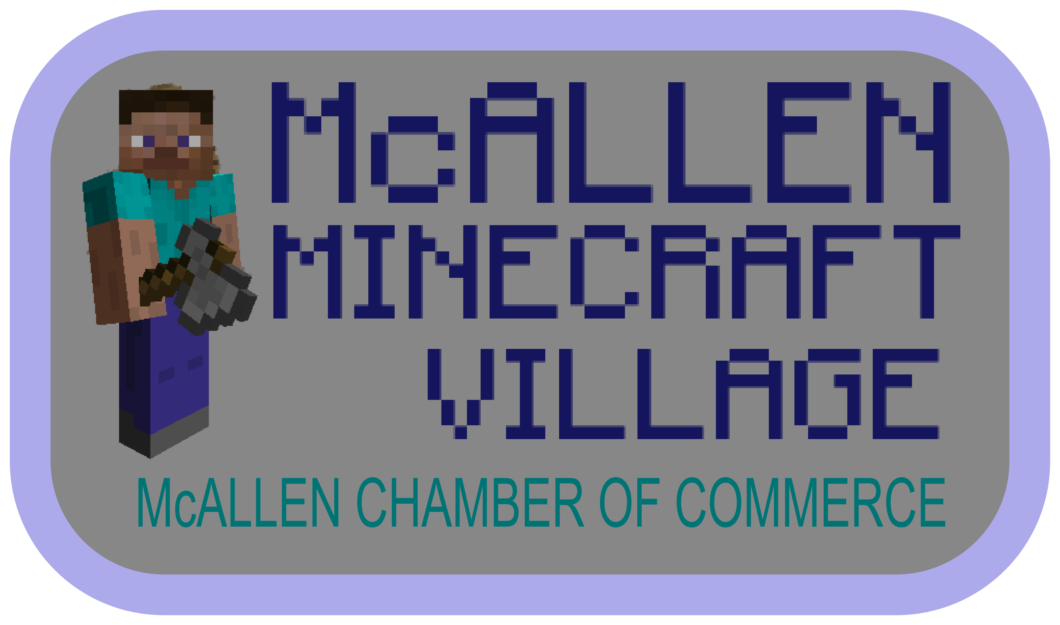 McAllen Minecraft Village McAllen Mini Maker Faire - Minecraft server icon erstellen online